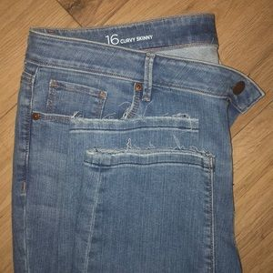 Skinny curvy denim